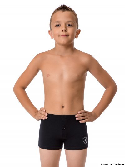 Купить Трусы-шорты для мальчиков BX2102B, Charmante, чёрный