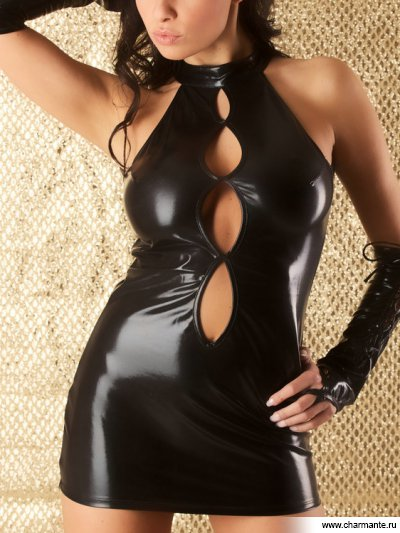 Комплект женский (платье, головной убор, перчатки, стринги, чулки) beastly наножники ххх черные с 3 мя металлическими d кольцами