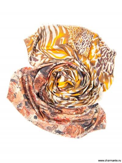 Купить Платок женский, размер 185x70 см SCVIST370, Charmante, бежевый