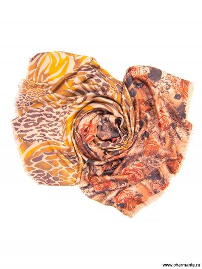 Купить Платок женский, размер 185x70 см SCVIST370, Charmante, коричневый