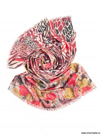 Купить Платок женский, размер 185x70 см SCVIST370, Charmante, розовый