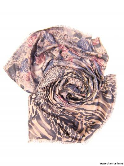 Купить Платок женский, размер 185x70 см SCVIST370, Charmante, серый