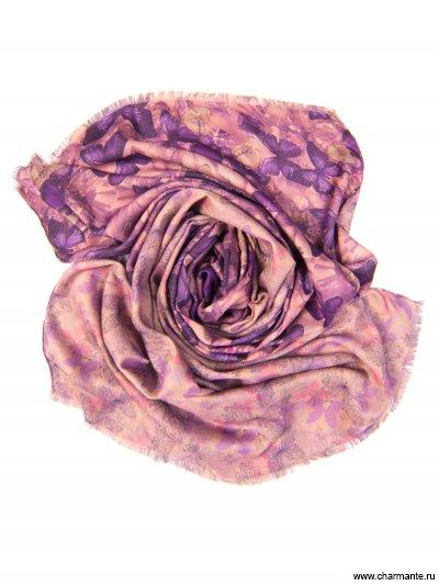 Купить Платок женский, размер 185x70 см SCVIST371, Charmante, сиреневый