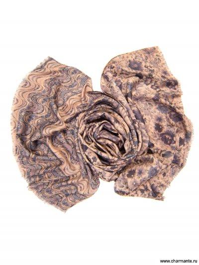 Купить Платок женский, размер 185x70 см SCVIST372, Charmante, серый