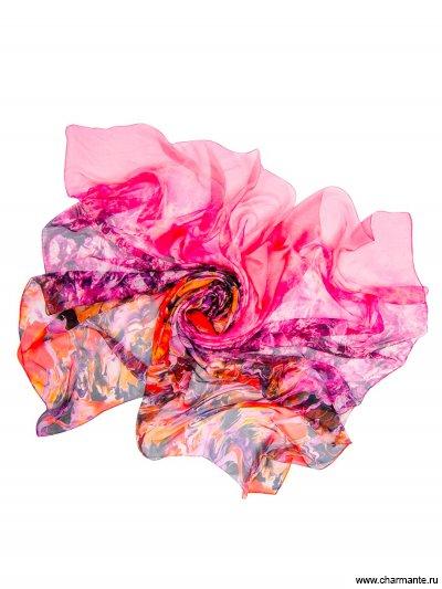 Купить Платок женский, размер 190x130 см SCSF396, Charmante, розовый