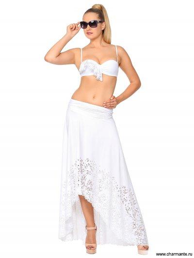 Купить Юбка пляжная WU 101706 LG Karina, Charmante, белый