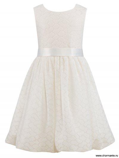 Комплект для девочек (платье, кофта) от Charmante