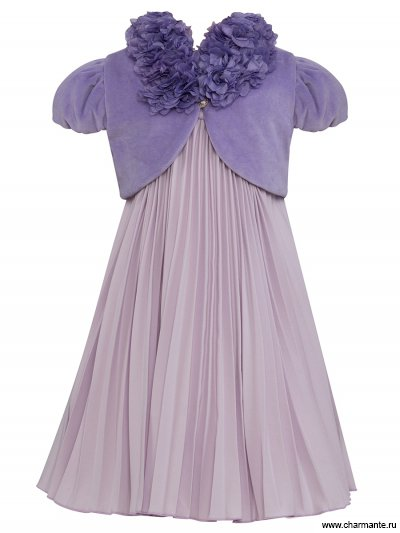 Комплект для девочек (платье, болеро) от Charmante