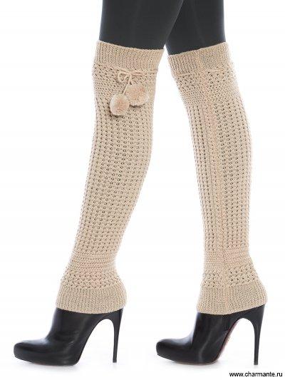 Купить Гетры женские GL1504, Charmante, светло-бежевый