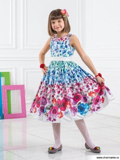 Платье праздничное для девочек Charmante PSA021501