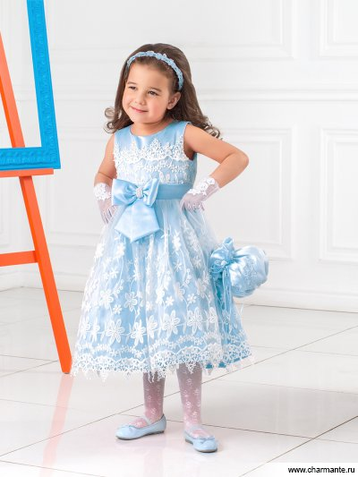 Платье праздничное для девочек Charmante PSA031501