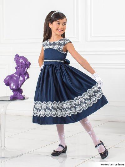 Платье праздничное для девочек naillook miracle top 30671 цвет 30671