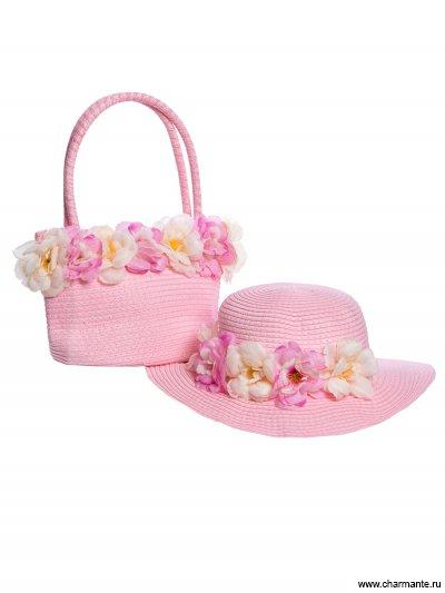 Комплект шляпка детская + сумка Charmante AKGS212