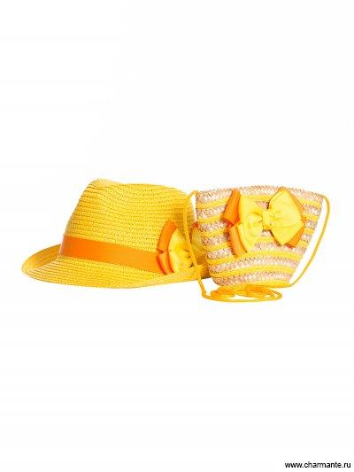 Комплект шляпка детская + сумка Charmante AKGS213