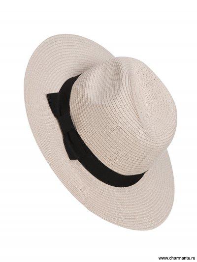 Купить Шляпа женская HWHS1719, Charmante, светло-бежевый