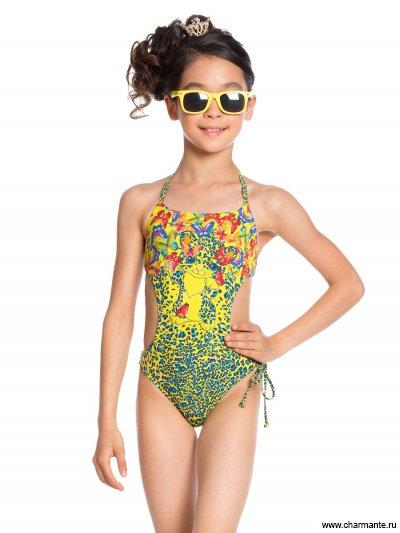Купить Купальник для девочек (трикини) GI 031705AF Bagira, Charmante, мультиколор