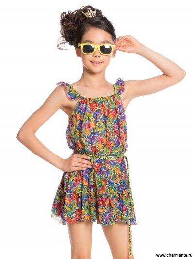 Платье пляжное для девочек GQ 031706AF Beatrice от Charmante