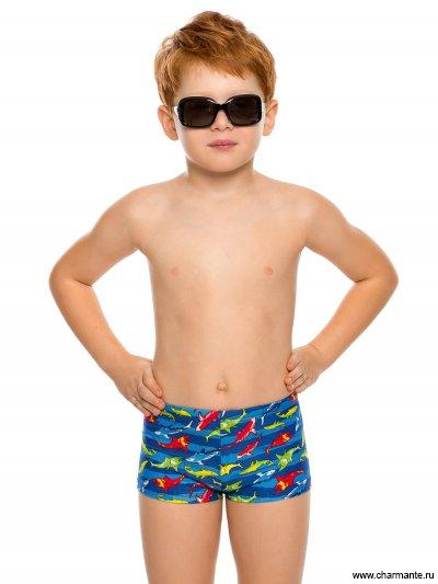 Купить Плавки-шорты для мальчиков BX 091804, Charmante, мультиколор