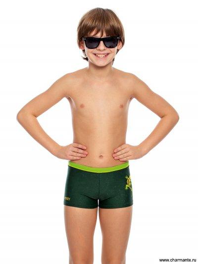 Купить Плавки-шорты для мальчиков BX 081807, Charmante, мультиколор