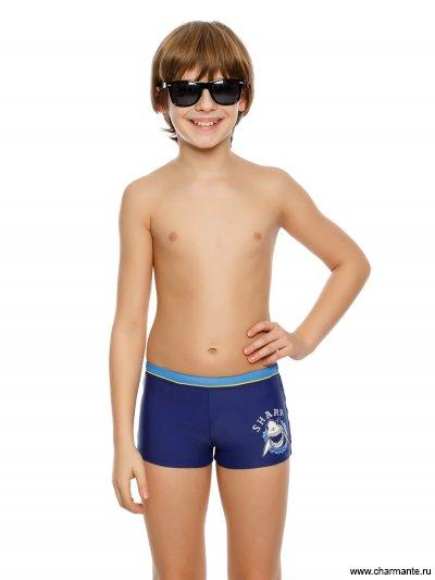 Купить Плавки-шорты для мальчиков BX 091809, Charmante, мультиколор