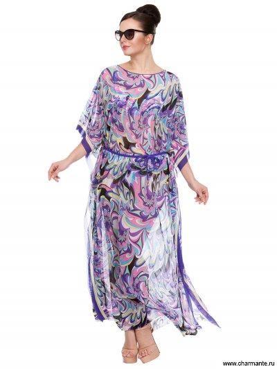 Купить Туника пляжная для женщин WT221806, Charmante, мультиколор