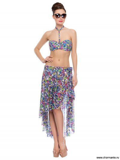 Купить Юбка пляжная для женщин WU171806, Charmante, мультиколор