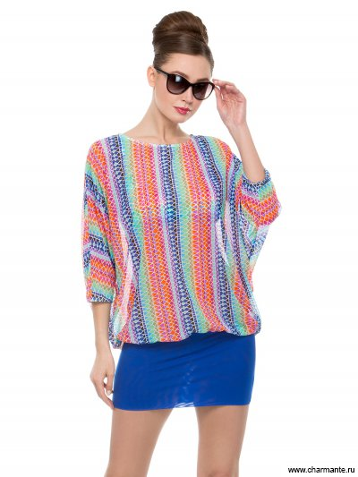 Купить Туника пляжная для женщин WT271806, Charmante, мультиколор