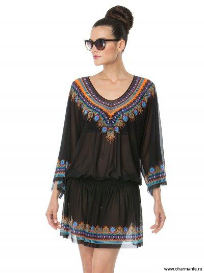 Купить Туника пляжная для женщин WT141806, Charmante, черный