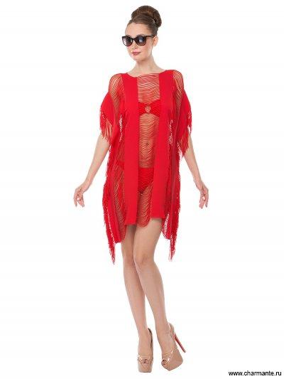 Купить Туника пляжная для женщин WT191808, Charmante, красный