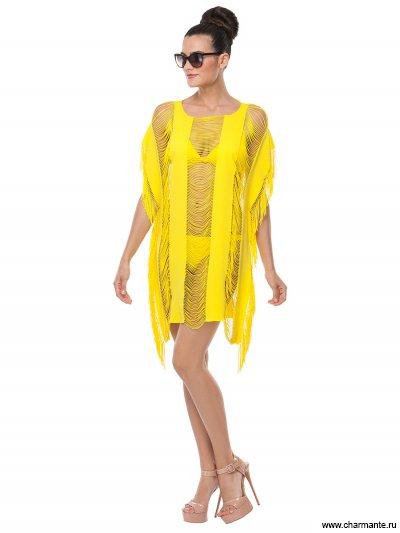 Купить Туника пляжная для женщин WT191808, Charmante, желтый