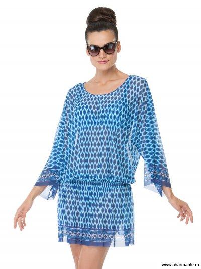 Купить Туника пляжная для женщин WT151809, Charmante, голубой