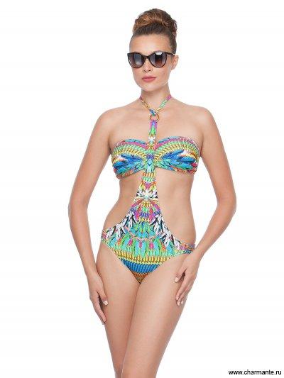 Купить Купальник женский трикини+плавки WBFI/VCY161805, Charmante, мультиколор