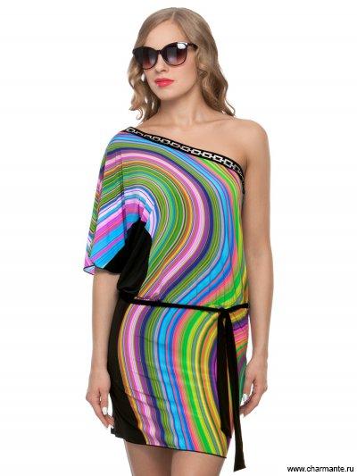 Купить Туника пляжная для женщин WT 041807 LG Quicksilver, Charmante, мультиколор