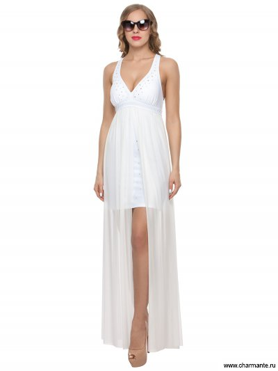 Купить Платье пляжное для женщин WQ 121809 LG Magdalena, Charmante, белый