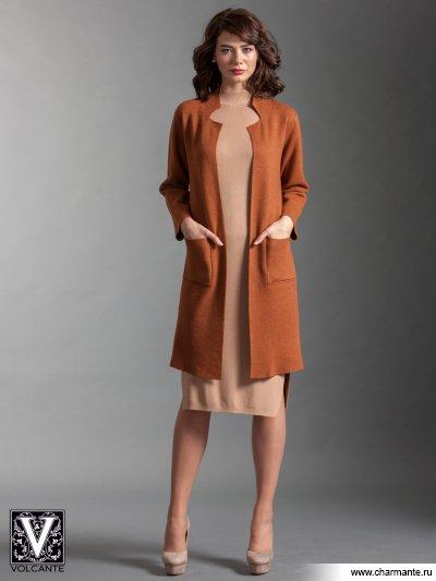 Купить Кардиган VIQ021701, Charmante, св. коричневый