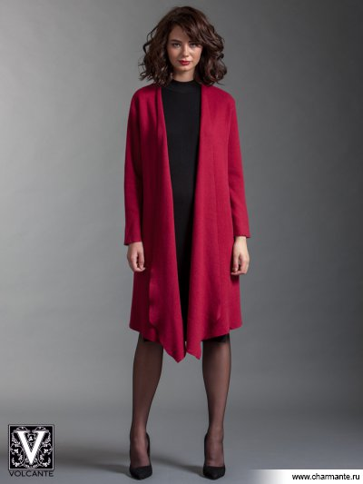 Купить Кардиган VIQ021702, Charmante, бордовый