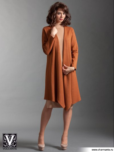 Купить Кардиган VIQ021702, Charmante, св. коричневый