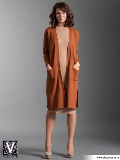 Кардиган VIQ021703, Charmante, св. коричневый  - купить