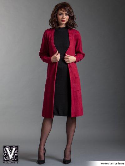 Кардиган VIQ021704, Charmante, бордовый  - купить
