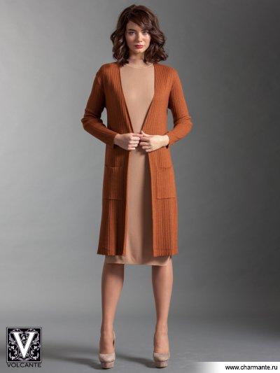 Купить Кардиган VIQ021704, Charmante, св. коричневый