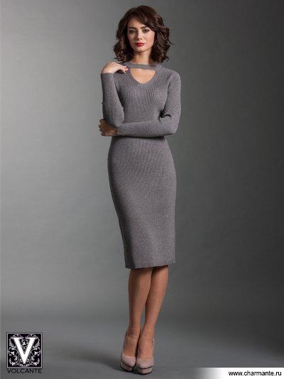 Купить Платье VPD021729, Charmante, серый