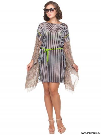 Купить Туника пляжная для женщин WT 051808 LG Ramona, Charmante, мультиколор