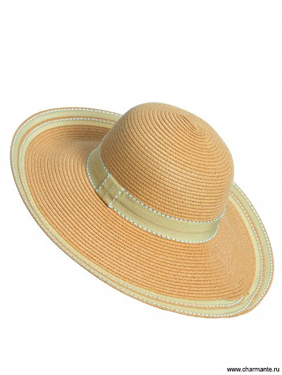 Купить Шляпа женская HWHK1836, Charmante, темно-бежевый