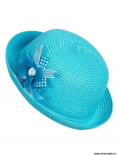 Купить Шляпа детская HGHS1844, Charmante, голубой