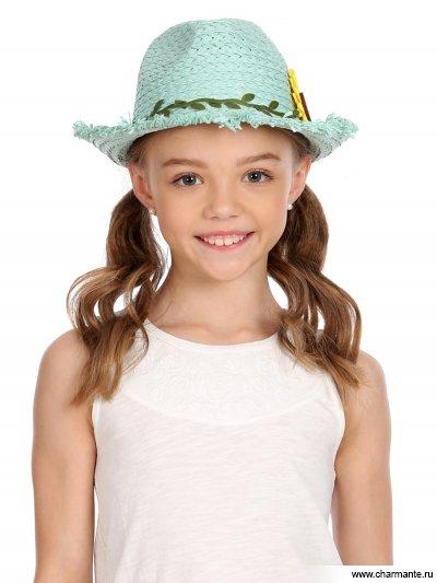 Купить Шляпа детская HGHS 1918, Charmante, бирюзовый