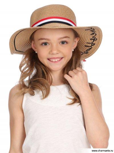 Купить Шляпа детская HGHS 1906, Charmante, бежевый