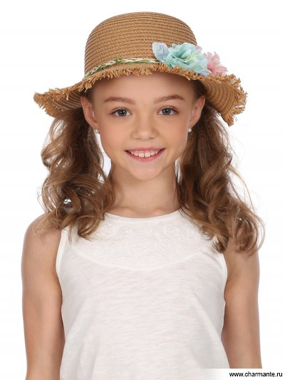 Купить Шляпа детская HGHS 1917, Charmante, коричневый