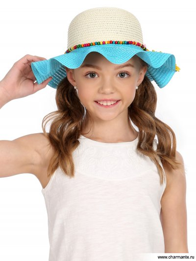 Купить Шляпа детская HGHS 1919, Charmante, голубой