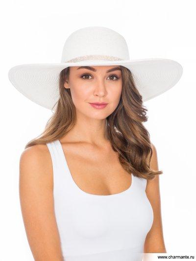 Купить Шляпа женская HWHS 1966, Charmante, белый